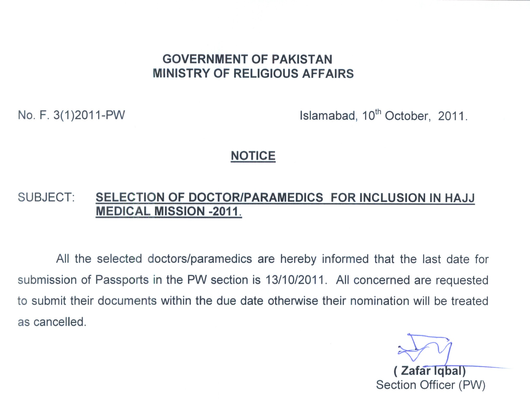 Ministry Of Religious Affairs